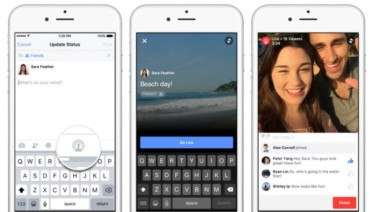Brand building: Live video streaming is coming to Facebook