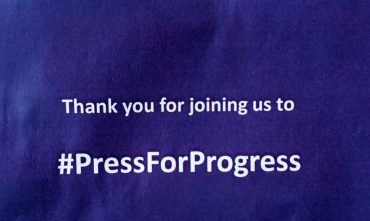 Press for Progress – International Women's Day event in Manchester